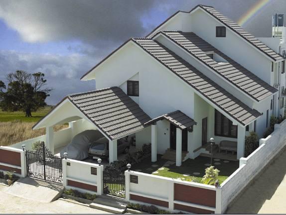 mái nhà hơph phong thủy