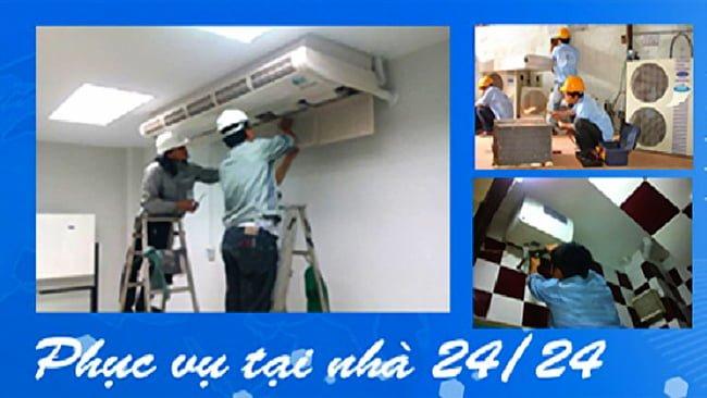 sửa chữa lắp đặt máy lạnh tại nhà