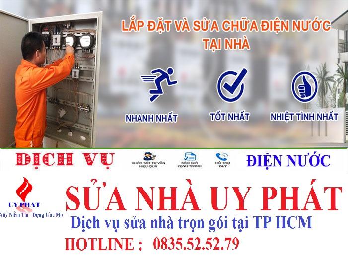 Thợ sửa điện nước tại nhà TP HCM uy tín