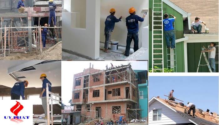 an toàn lao động trong sửa nhà trọn gói