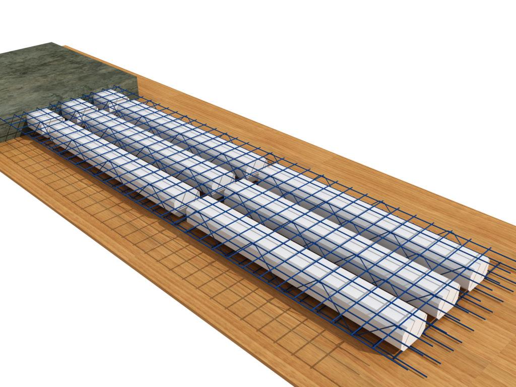 kết cấu sàn panel siêu nhẹ